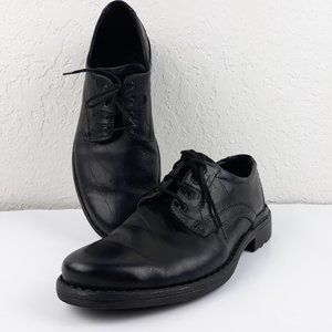 Josef Seibel Men's Oxford Shoes Black EU 41 / US 8